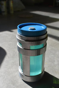 Fortnite 12 oz CHUG JUG! Glass and 3D Printed Fort Nite Drink Fortnight Party Decorations Cosplay Costume Prop Slurp Juice ChugJug Drinkable