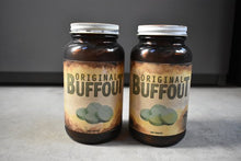 Fallout Buffout in Amber Glass Antique Medicine Bottle. Wasteland Fallout Cosplay Chem Buffout