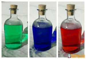 Legend Of Zelda Inspired Link Large Glass Bottles W/ Cork 250Ml For Red Blue Or Multi Potions.