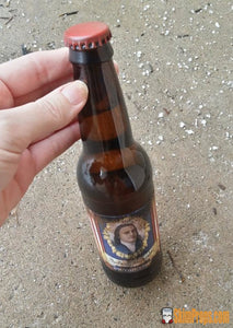 Fallout 4 Gwinnett Stout Wasteland Beer Beverage! Fallout4 Button Nuka-Cola Glass Bottle Quantum