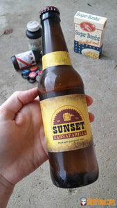 Fallout Sunset Sarsaparilla Bottle W/ Cap. Wasteland Display Piece Gift Or Costume Accessory Cosplay