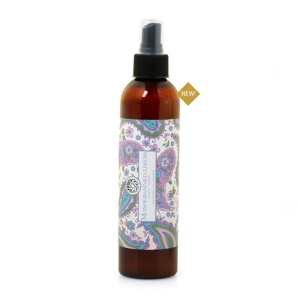 Monogrammed Linens Room Spray - 8 oz