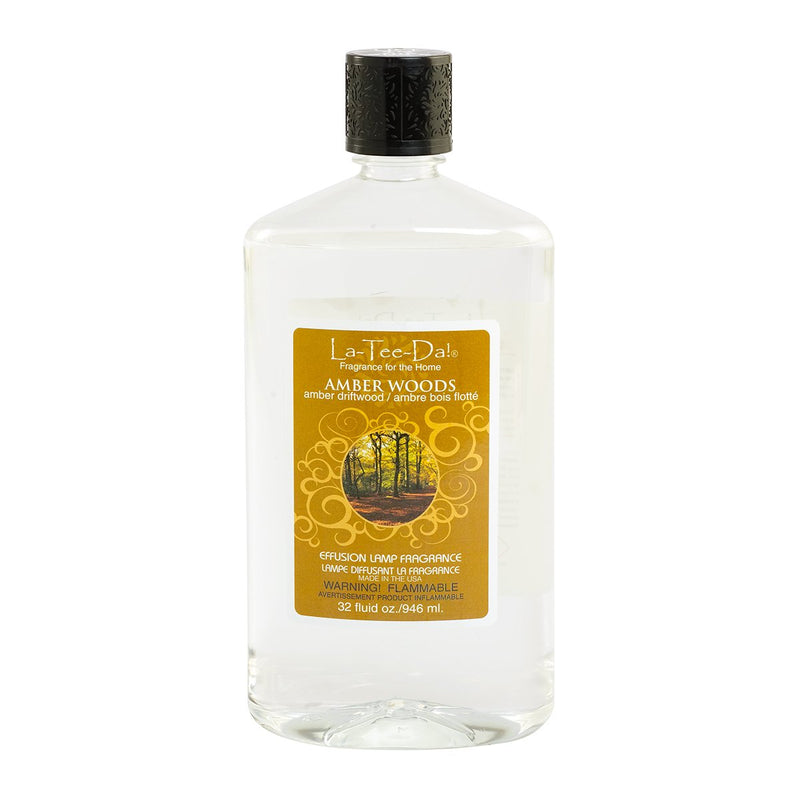 Amber Woods Effusion Fragrance - 32 oz - LaTeeDa!