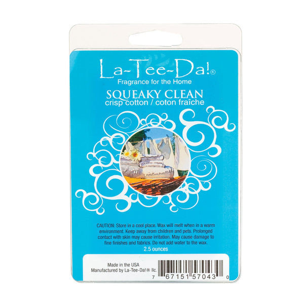 Squeaky Clean - Crisp Cotton - 2.5oz - LaTeeDa!
