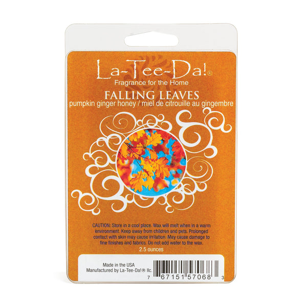 Falling Leaves - Pumpkin Ginger Honey - 2.5 oz - LaTeeDa!
