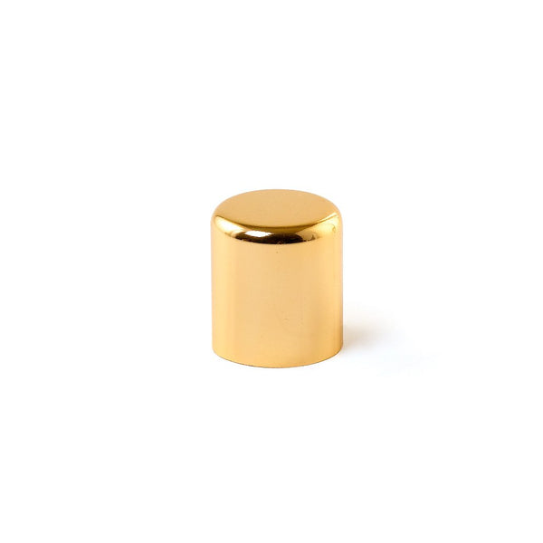 Large Closed Metal Cap - Gold - LaTeeDa!
