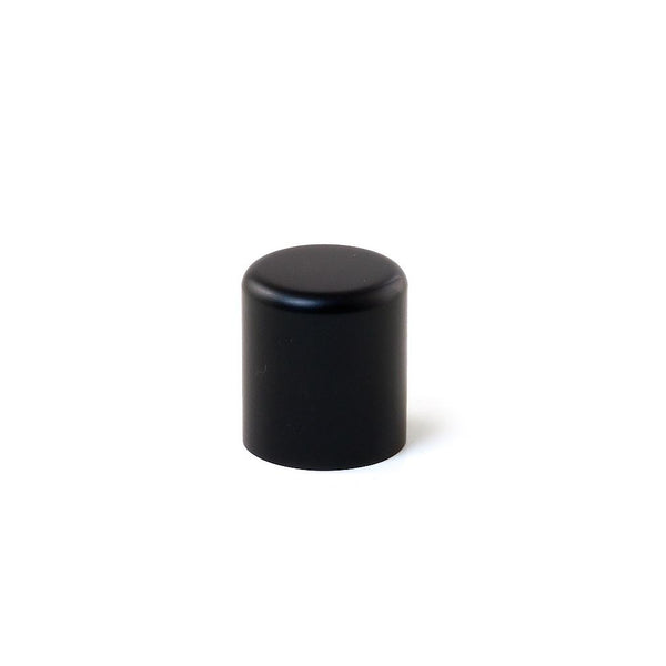 Large Closed Metal Cap - Black - LaTeeDa!