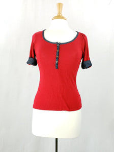 Eye Candy Short Sleeve Top