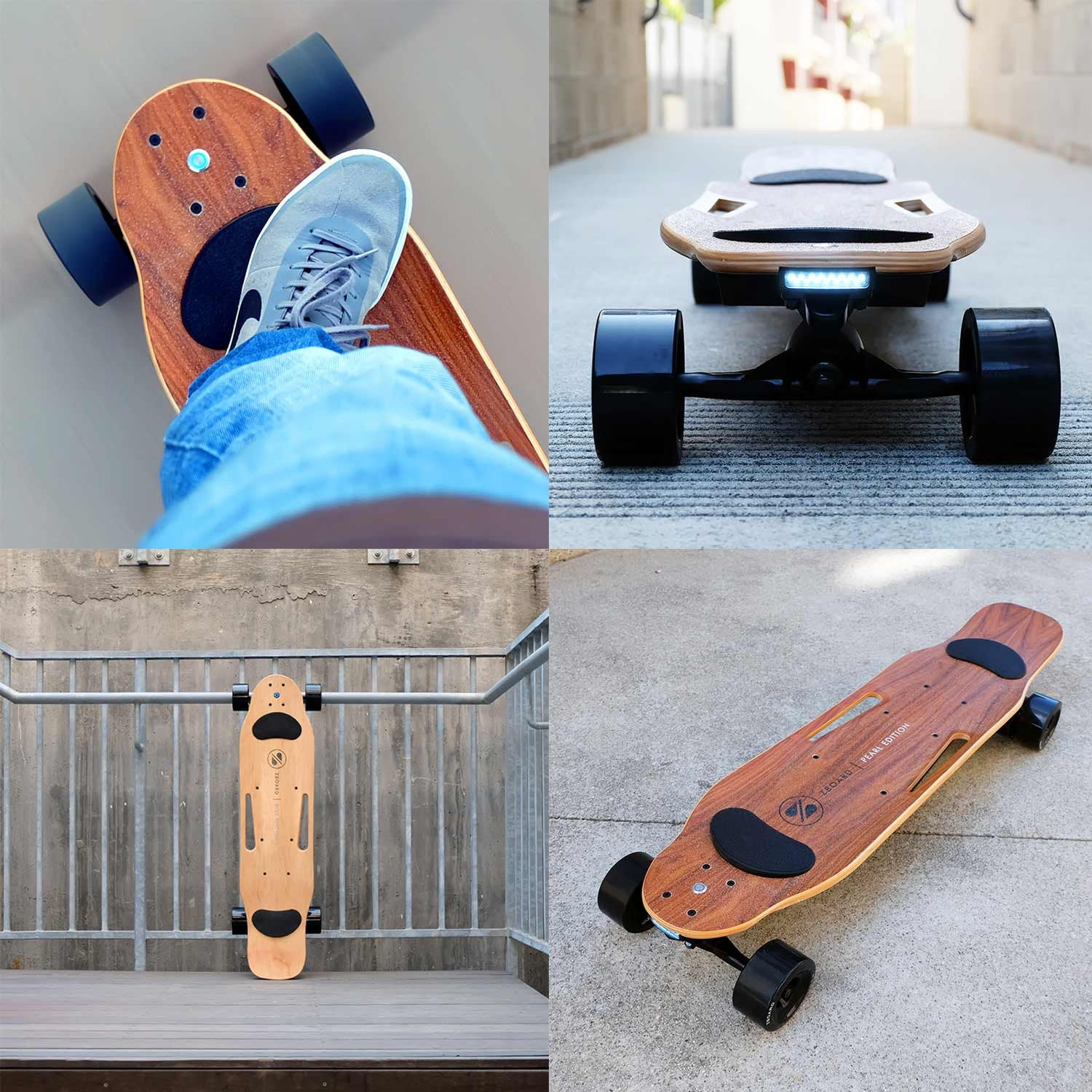 motorized longboard