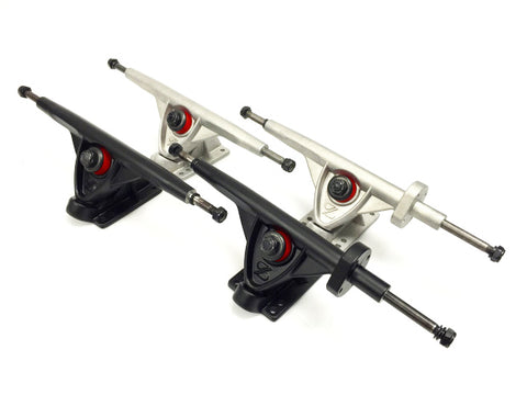 Black and Chrome ZBoard Truck Sets