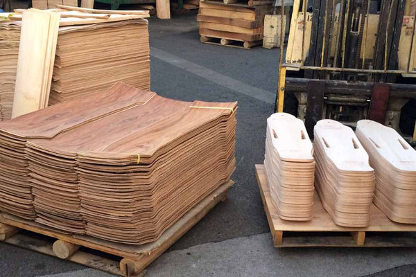 Motorized Skateboard Wood CNC Cuts