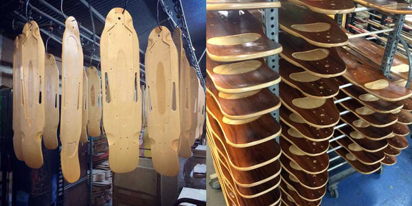 Z Board Wooden Longboards