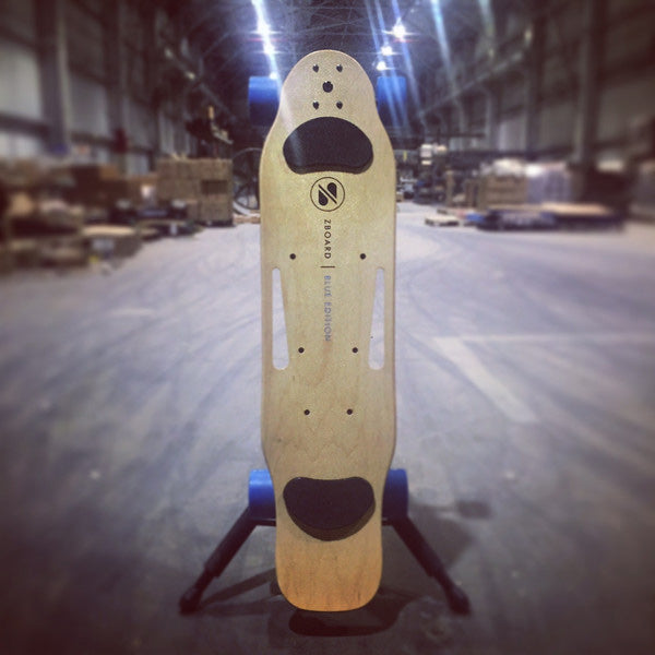 Vertical Electric Skateboard Deck