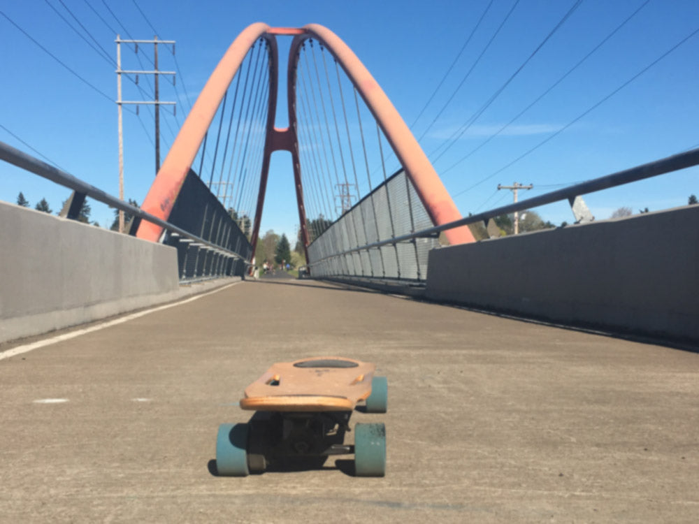 ZBoarding over Bridge