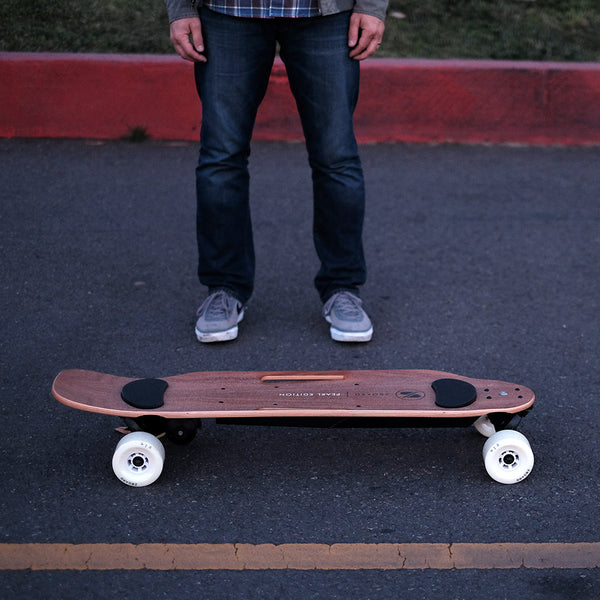 zboard 2 electric skateboard pearl
