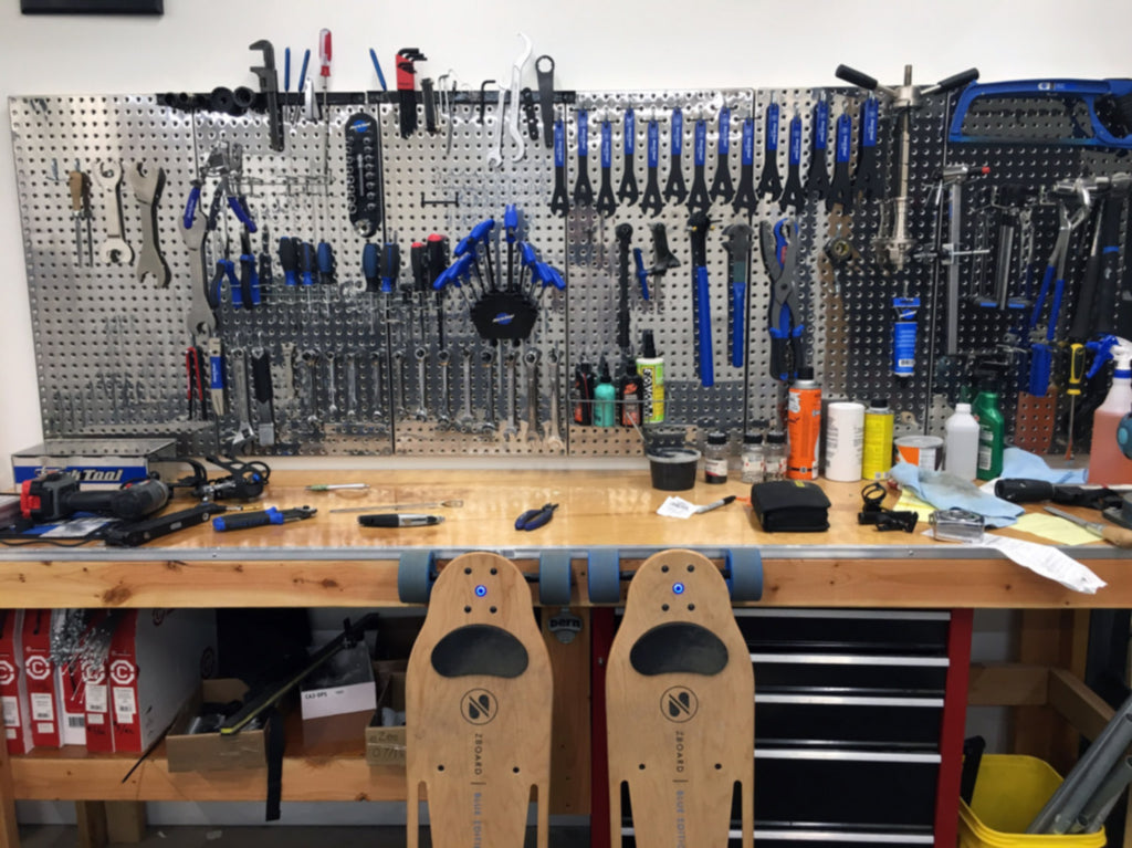 ZBoard with Tools