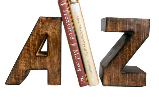 A to Z Bookends - Sale