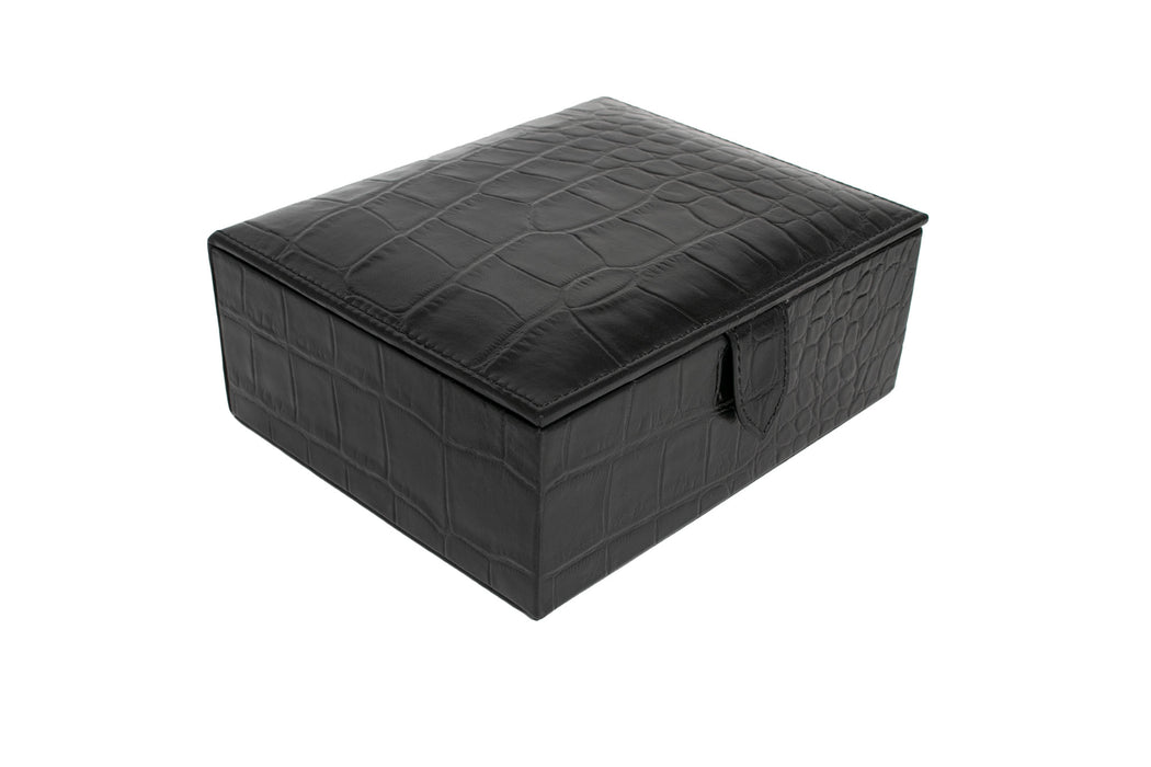 Croc Leather Box - Sale