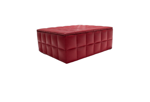 Quilted Leather Box - Sale
