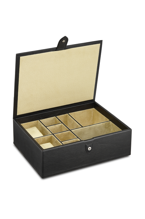 Luxury Leather Accessories Box