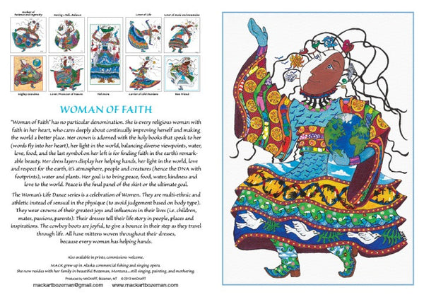 Woman of Faith Card