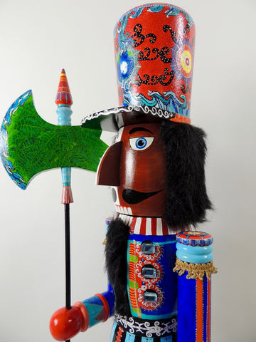"""2019 American"" Nutcracker (3 1/2 Ft. Tall)"