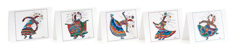 Woman's Life Dance Series - Card Set