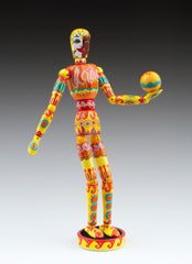 SOLD - My Sunshine Wooden Doll