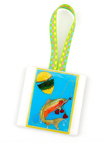 Fishy Holiday! Ornament and Card Combination