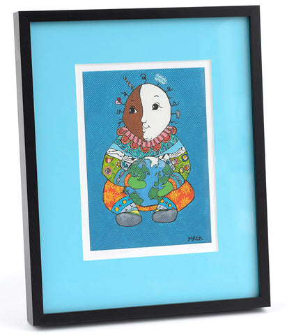 Little Man - Framed/Matted Giclée Print