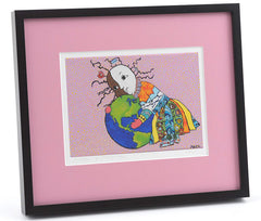 Mother and Daughter - Framed/Matted Giclée Print