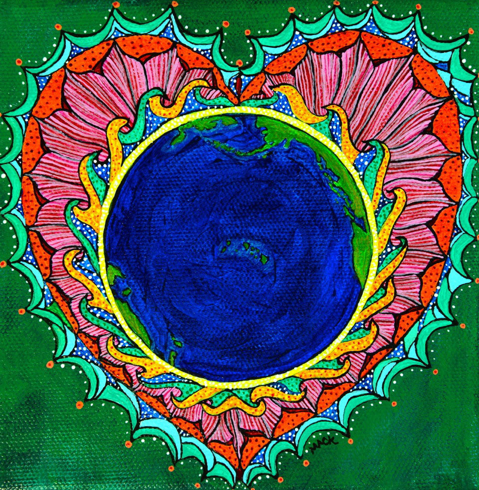 SOLD - Love Your Mother (Earth) Series
