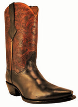 "Load image into Gallery viewer, ""Ramas"" ARDITTI ORIGINAL DESIGN Hand Carved/Tooled w/ Calfskin Handmade Boots"