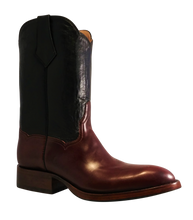 Load image into Gallery viewer, Genuine Cordovan Shell & Calfskin Tops Handmade Boots