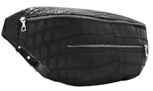 Genuine American Alligator Fanny Pack