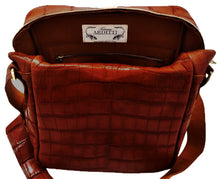 Load image into Gallery viewer, Genuine American Alligator Camera Bag