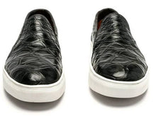 Load image into Gallery viewer, Ready To Wear Genuine American Alligator & Calf Sneakers 9D