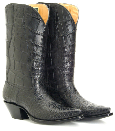 Seamless Alligator boot pair