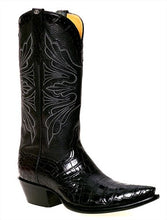 Load image into Gallery viewer, Genuine American Alligator Belly Handmade Boots