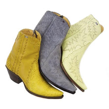 Load image into Gallery viewer, Genuine American Alligator & Calfskin, Suede, Lambskin Handmade Ankle Boots