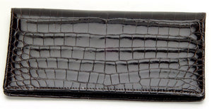 Genuine American Alligator and Genuine South African Full Quill Ostrich Wallets