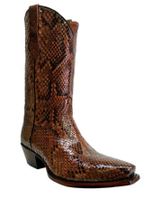Load image into Gallery viewer, Genuine Full Burmese Python Handmade Boots