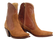 "Load image into Gallery viewer, ""Chloe"" Genuine Calfskin or Lambskin Handmade Ankle Boots"