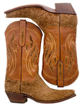 Load image into Gallery viewer, Genuine Hippopotamus w/ Hippopotamus Inlay Handmade Boots
