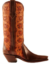 "Load image into Gallery viewer, ""Mesquite Alto"" ARDITTI original Design Hand Carved / Tooled w/ Kangaroo Handmade Boots"