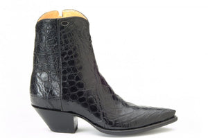 """Patron"" Genuine Full American Alligator Ankle Boot"