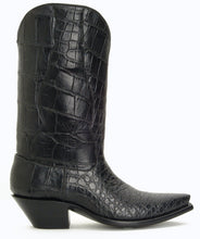 Load image into Gallery viewer, Seamless Full Genuine American Alligator Belly cut Handmade Boots