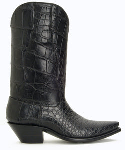 Seamless Full Genuine American Alligator Belly cut Handmade Boots