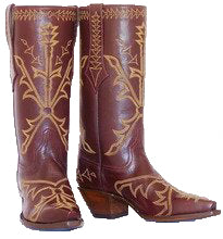 "Load image into Gallery viewer, ""Azteca"" Genuine Calf Handmade Boots"