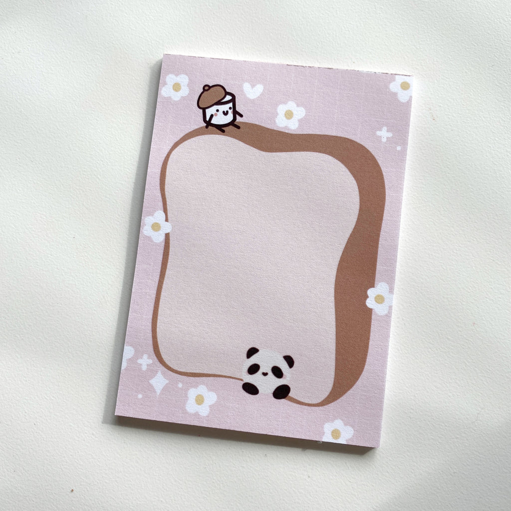 Bobo & Maru | Paper Kuma Co x Paper and Milk | Notepads